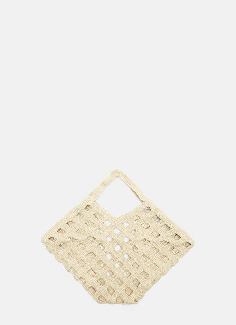 Lauren Manoogian Crochet Grid Bag