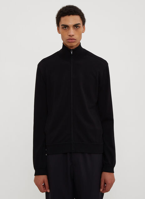 Valentino VLTN Zip-Up Knit Sweater