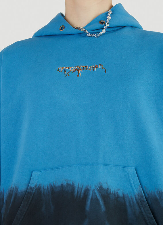 Ottolinger Otto Hoodie Blue Dip 5