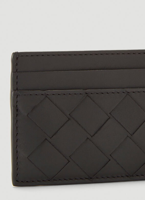 Bottega Veneta Woven Card Holder 4