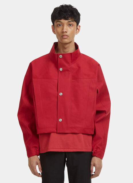 Mackintosh 0002 Bonded Cotton Cropped Jacket