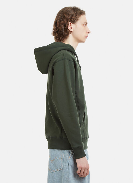 Heresy Hooded Embroidered Arch Logo Sweatshirt