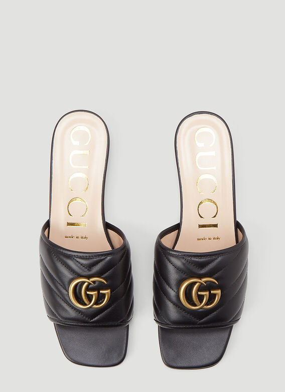 Gucci GG Leather Sandals 2