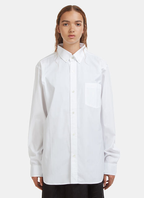 Vetements Open Back Shirt