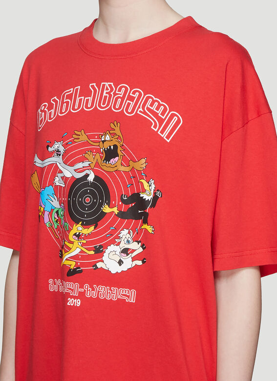 Vetements Cartoon T-Shirt