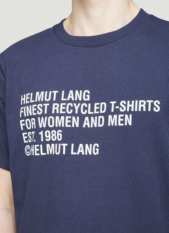 Helmut Lang Recycled T-Shirt 5