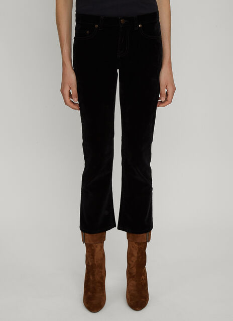 Saint Laurent Textured Jeans