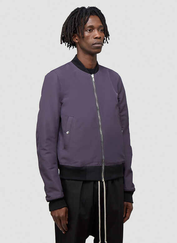 Rick Owens Reversible Cropped Flight Jacket 6
