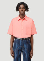 Martine Rose DUEL S/S SHIRT 100%CO