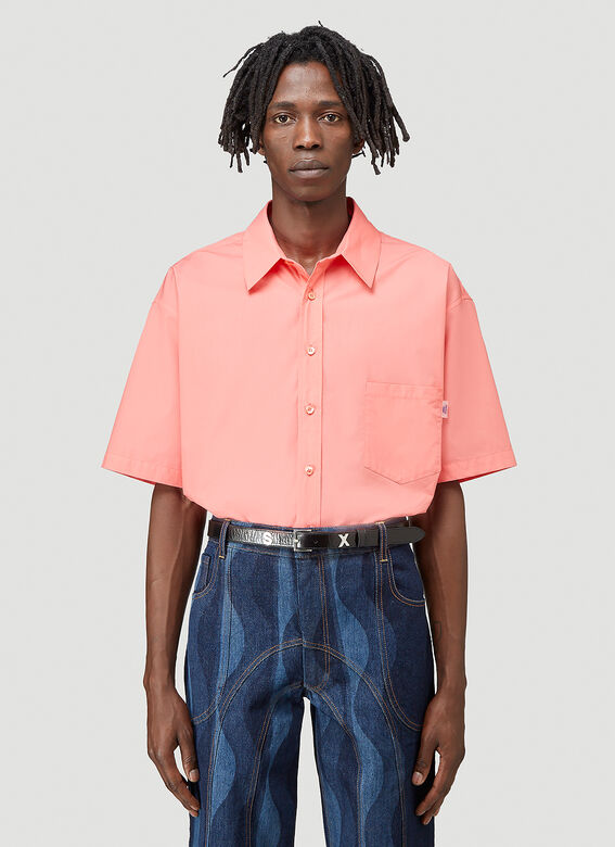 Martine Rose DUEL S/S SHIRT 100%CO 1