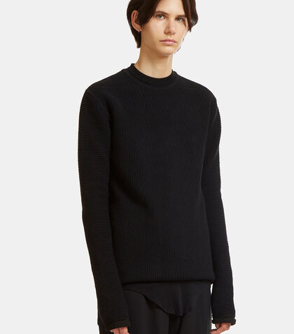 Lupetto Ribbed Knit Sweater