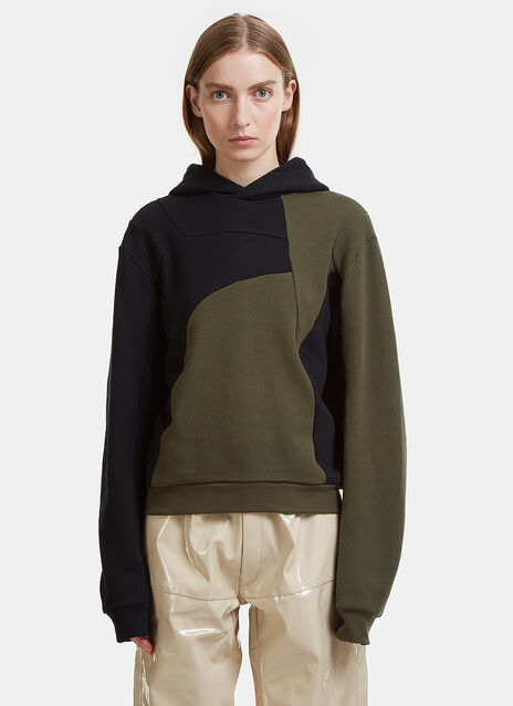 Lisa Two Tone Hooded Sweatshirt