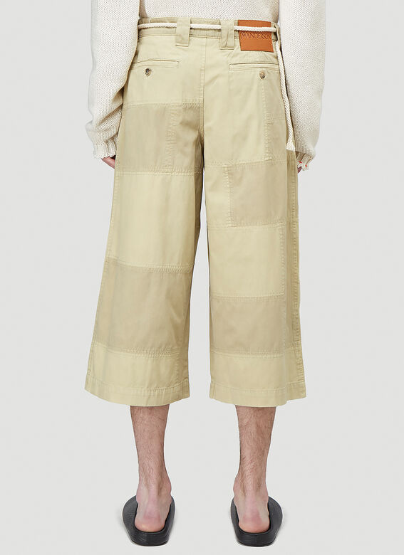 JW Anderson CROPPED TROUSERS PATCHWORK 4