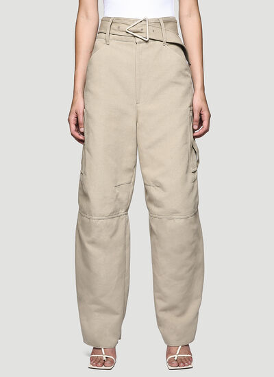 Bottega Veneta Canvas Pants
