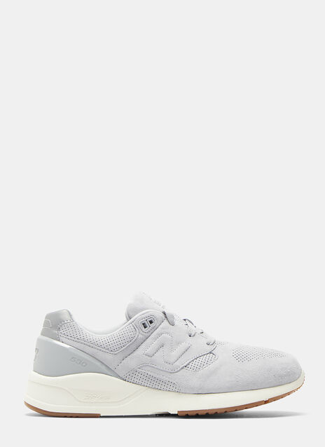 New Balance 530 Deconstructed Suede Sneakers