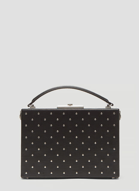 Saint Laurent Nan Box Stud Shoulder Bag