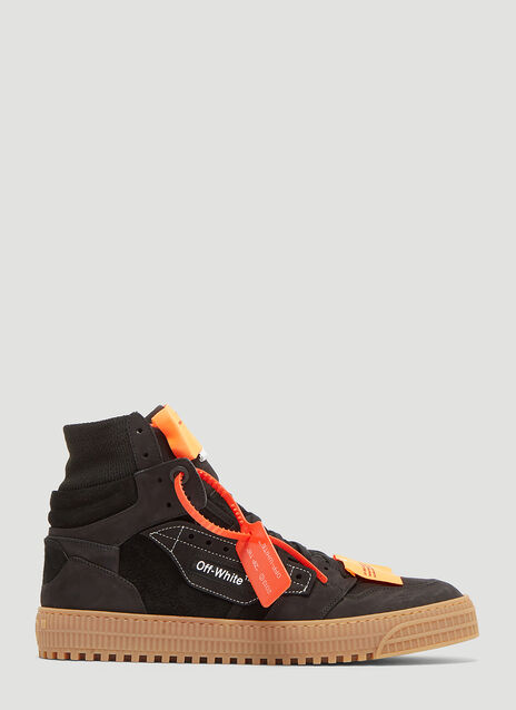 Off-White Suede Off-Court Sneakers