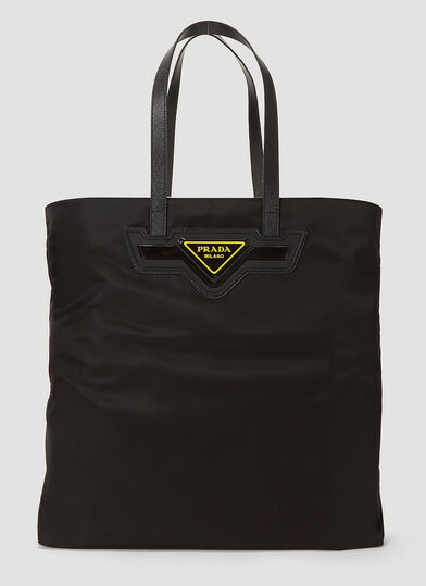 프라다 Prada Nylon Tote Bag in Black