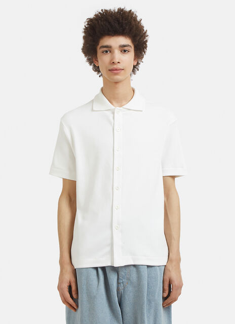 Lady White Co. Placket Polo T-Shirt