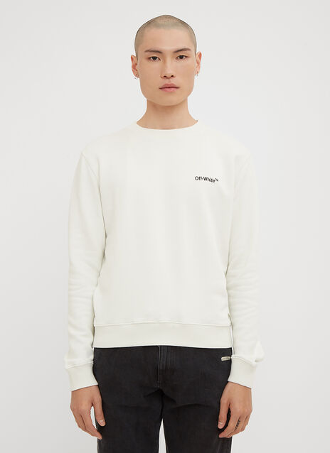 Off-White Small Logo Sweatshirt