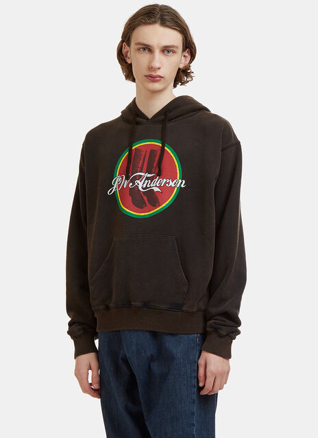JW Anderson JW Cola Boots Logo Sweater