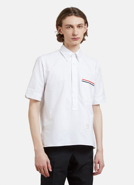 Thom Browne Short Sleeve Pullover Shirt