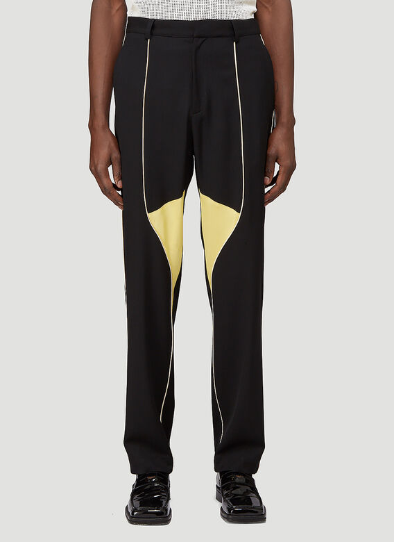 Wales Bonner SUNSHINE PANELLED TROUSERS 1