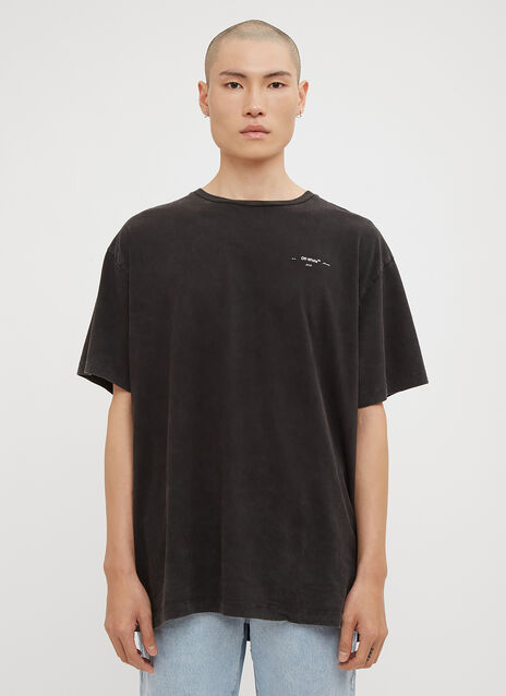 Off-White Oversized Logo Back Print T-Shirt