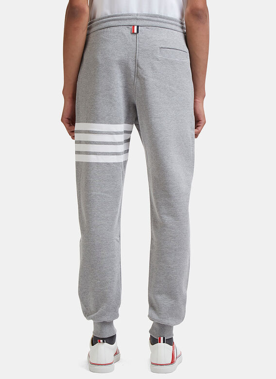 Thom Browne CLASSIC SWEATPANT WITH ENGINEERED 4-BAR IN CLASSIC LOOP BACK 4