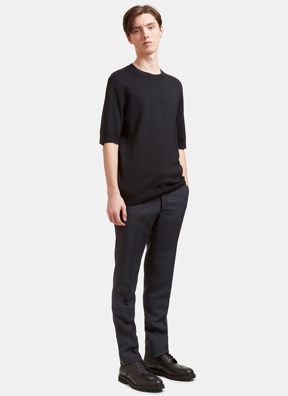 Aiezen AIEZEN Cashmere and Silk Knit T-shirt 2