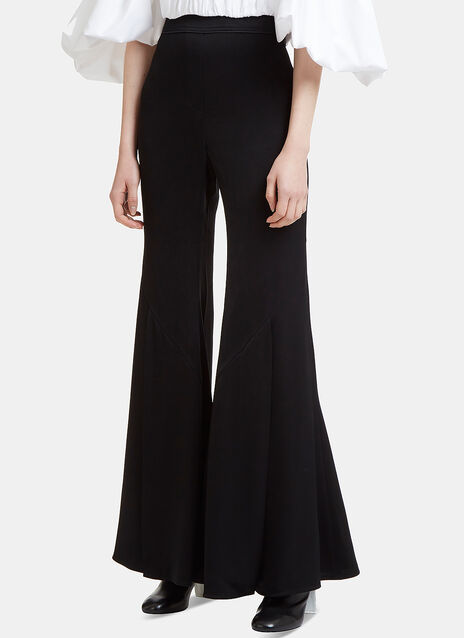 Ellery Higher and Higher Wide Leg Flared Pants