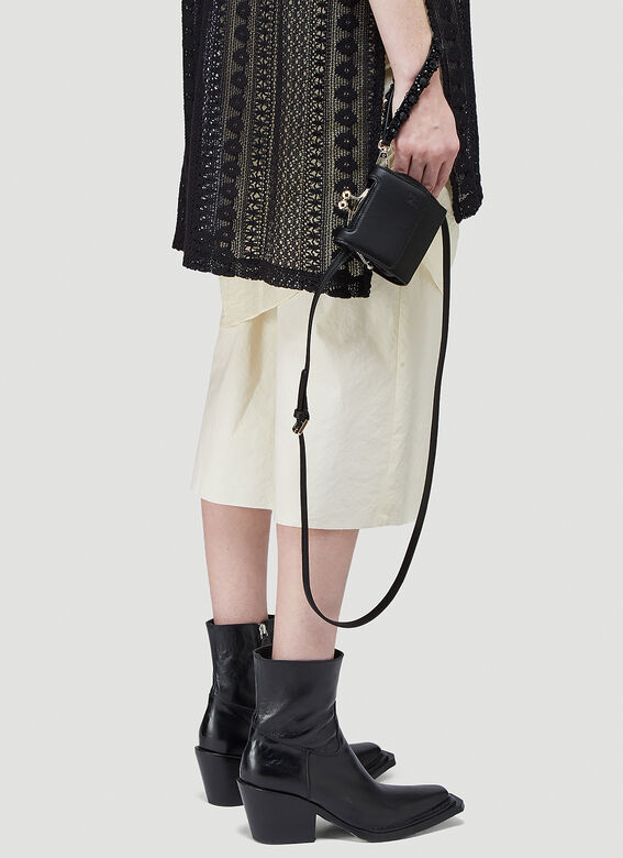Simone Rocha Flap Wristlet Shoulder Bag 2