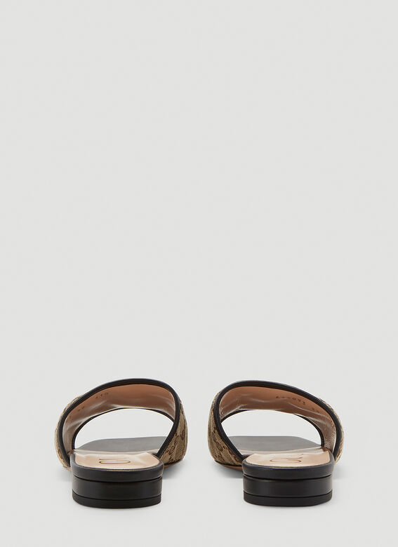 Gucci GG SLIDES OPEN TOES SANDAL 4