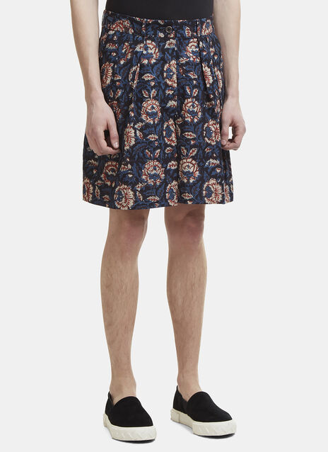 Story Mfg. Bridge Floral Print Shorts