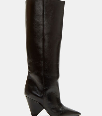 Niki 85 Asymmetric Knee-High Boots