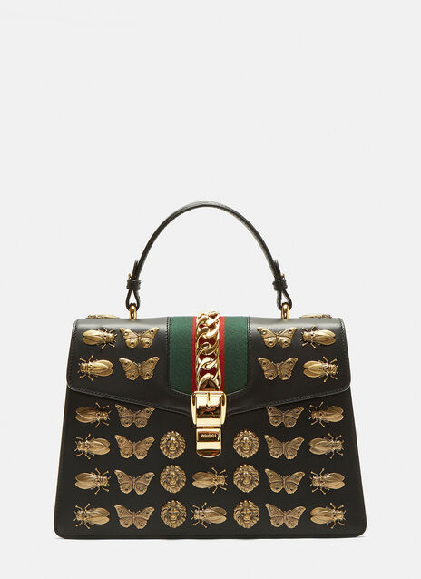 Gucci Medium Sylvie Insect Bag