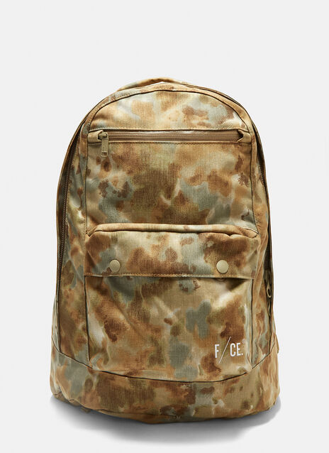 F/CE Canvas Camouflage Backpack