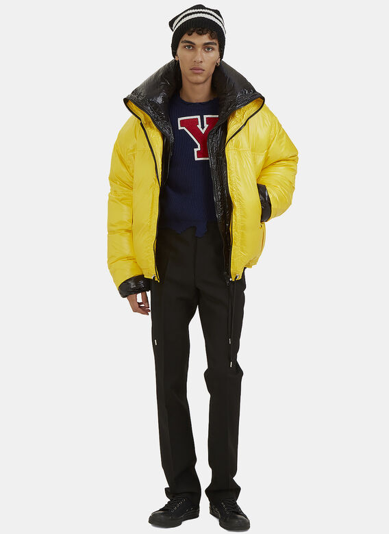 Raf Simons Double-Layered Down Quilted Jacket