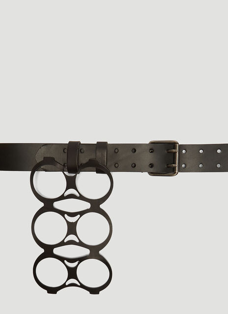 Raf Simons 6 Pack Attached Belt
