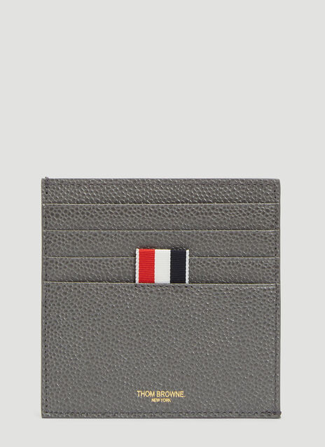 Thom Browne Square Bi-colour Card Holder