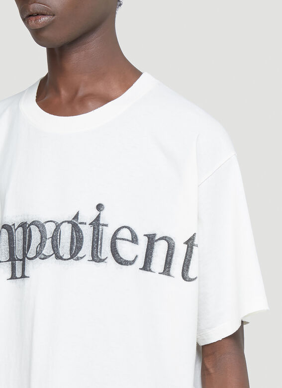 Gucci Impotent Important T-Shirt 5