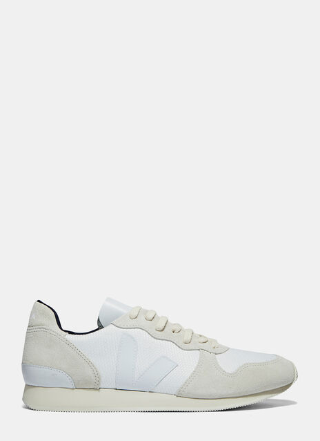 Veja Holiday Low-Top Suede Panel Sneakers
