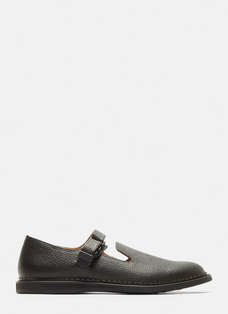Hender Scheme Neo Strap Leather Shoes
