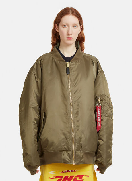 Vetements Alpha Reversible Bomber Jacket