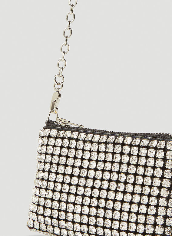 Alexander Wang Wangloc Rhinestone Mini Shoulder Bag 5