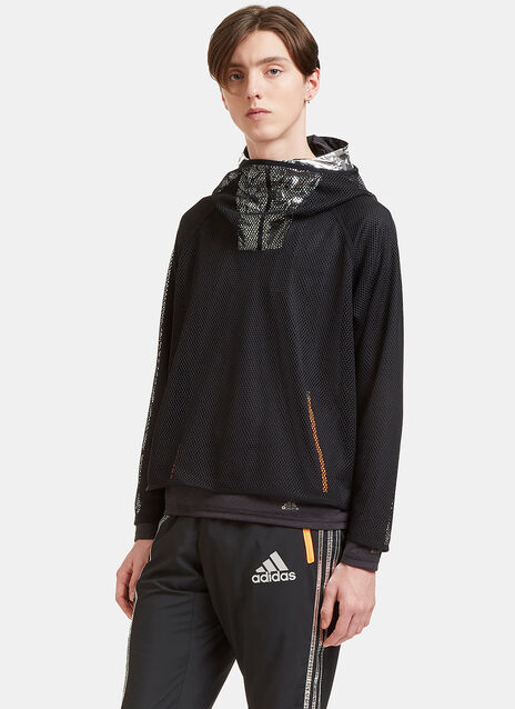 Climachill Layered Mesh Hooded Sweater