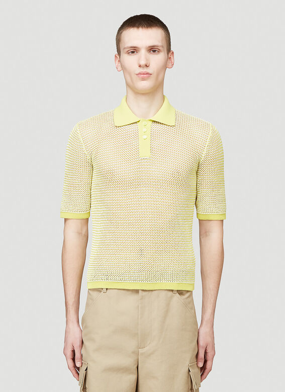Bottega Veneta SHIRT OPEN FISHNET 1