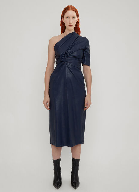 Stella McCartney Asymmetric Sleeve Dress