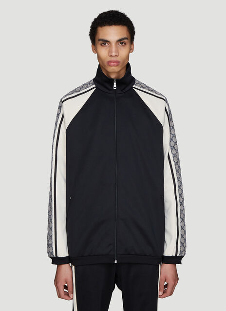 Gucci Oversized GG Print Track Jacket