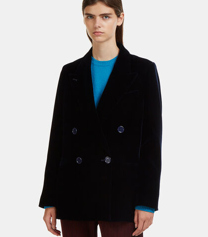 Jarva Double- Breasted Blazer Jacket